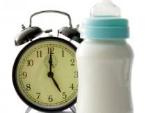 授乳ーミルクの間隔